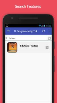 Tutorials for R Programming Offline screenshot 2