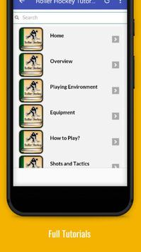 Tutorials for Roller Hockey Offline screenshot 1