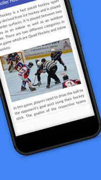 Tutorials for Roller Hockey Offline screenshot 3