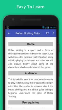 Tutorials for Roller Skating Offline screenshot 2