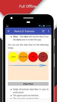 Tutorials for ReactJS Offline screenshot 4