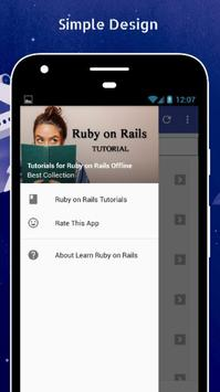 Tutorials for Ruby on Rails Offline poster