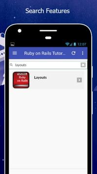Tutorials for Ruby on Rails Offline screenshot 2