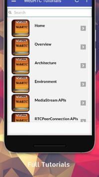 Tutorials for WebRTC Offline screenshot 1