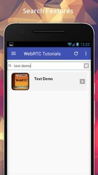 Tutorials for WebRTC Offline screenshot 2