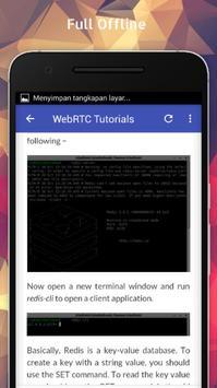 Tutorials for WebRTC Offline screenshot 4