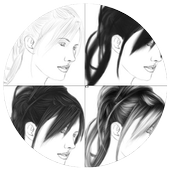 Learn To Drawing Hair icon