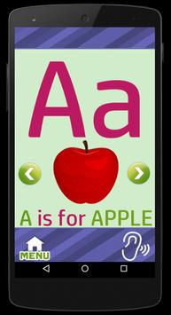 Learn ABC's - Flash Cards Game screenshot 2