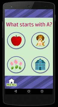 Learn ABC's - Flash Cards Game screenshot 3