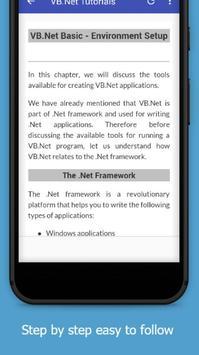 Tutorials for VB.Net Offline screenshot 3