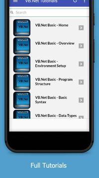 Tutorials for VB.Net Offline screenshot 1