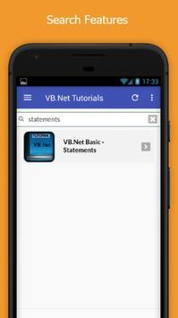 Tutorials for VB.Net Offline screenshot 2