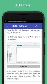 Tutorials for VB.Net Offline screenshot 4
