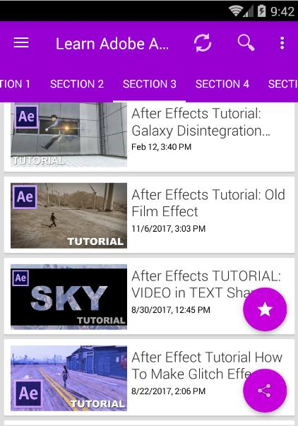 Learn Adobe After Effects CC, CS6 Video Editor for Android - APK