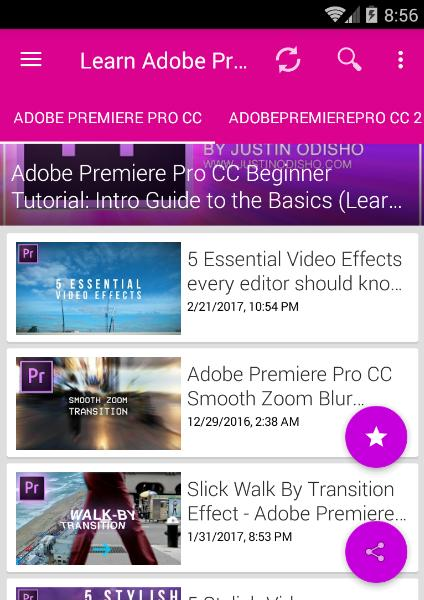 Learn Adobe Premiere Pro CC, CS6 for Android - APK Download