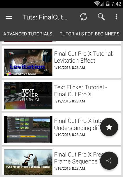 Final Cut Pro X Video Editing Software Tutorials for Android - APK