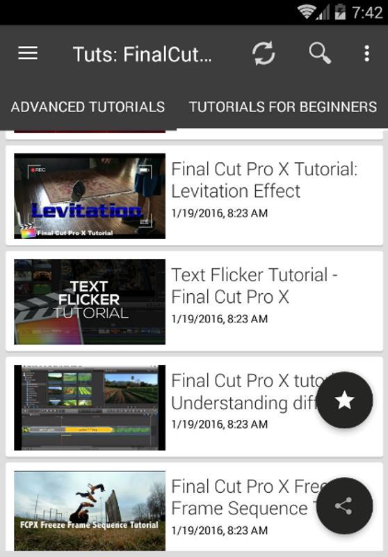 final cut pro editing tutorials