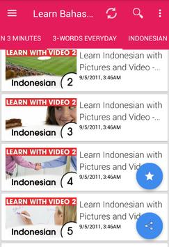 indonesian language application for android