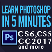 Adobe Photoshop CS6, CC 2017, CC 2018 Course icon