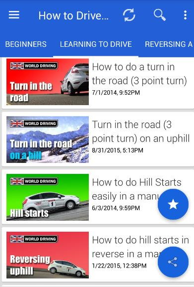Learn Driving a CAR With Gear: Manual & automatic for