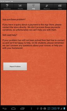 GCSE English Questions free screenshot 5