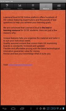 GCSE English Questions free screenshot 6