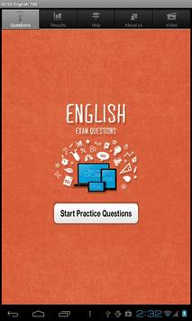 GCSE English Questions free poster