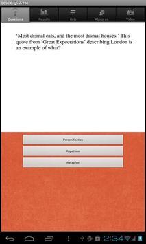 GCSE English Questions free screenshot 2