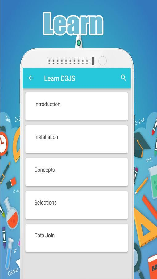 Learn D3 JS for Android - APK Download