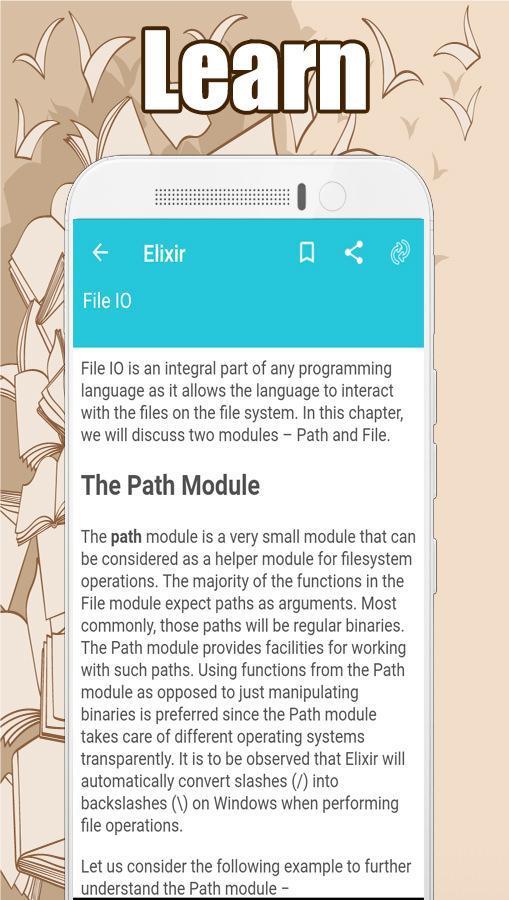 Learn Elixir cho Android - Tải về APK