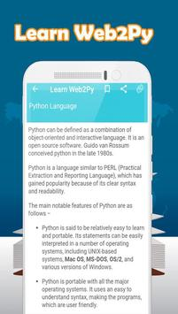 Learn Web2py for Android - APK Download