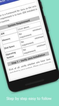 Tutorials for jMeter Offline screenshot 3
