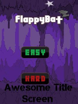 Hardcore Flappy Bat poster