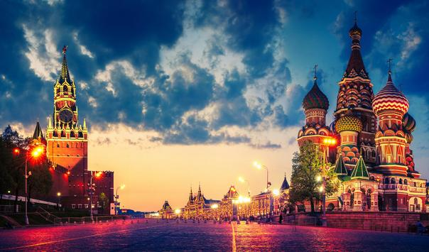 Moscow Russia Live Wallpaper apk screenshot