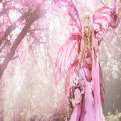 Pink Fairy Live Wallpaper icon