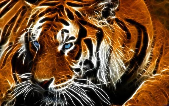 Tiger Eyes Live Wallpaper poster
