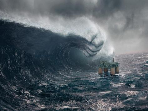 Tsunami Live Wallpaper poster