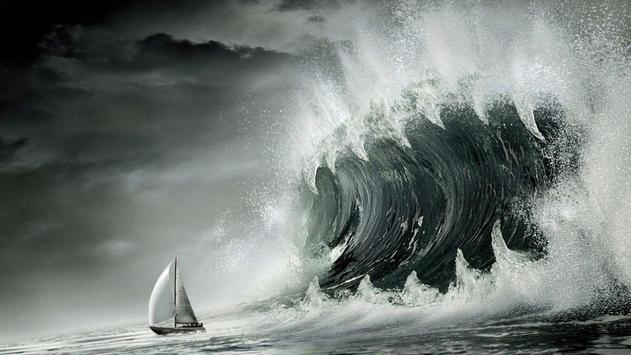 Tsunami Live Wallpaper apk screenshot