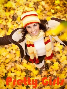 Pretty Autumn Girls poster