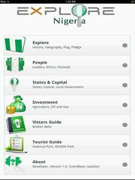 Explore Nigeria poster