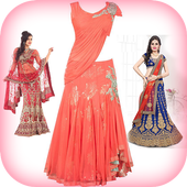 Lehenga Choli Image Editor: Suit Choli Photo Frame icon