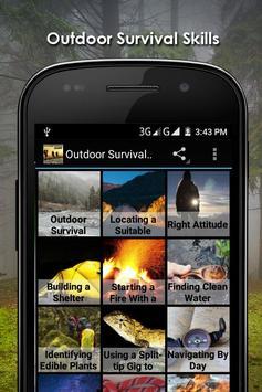 Outdoor Survival Apps Offline poster