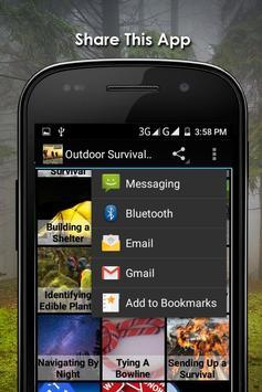 Outdoor Survival Apps Offline screenshot 14