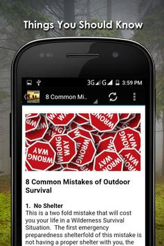 Outdoor Survival Apps Offline apk screenshot