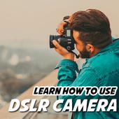Learn How To Use A DSLR Camera icon