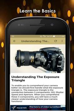 Learn How To Use A DSLR Camera screenshot 3