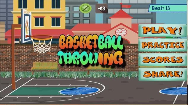 Basketball Throwing apk screenshot