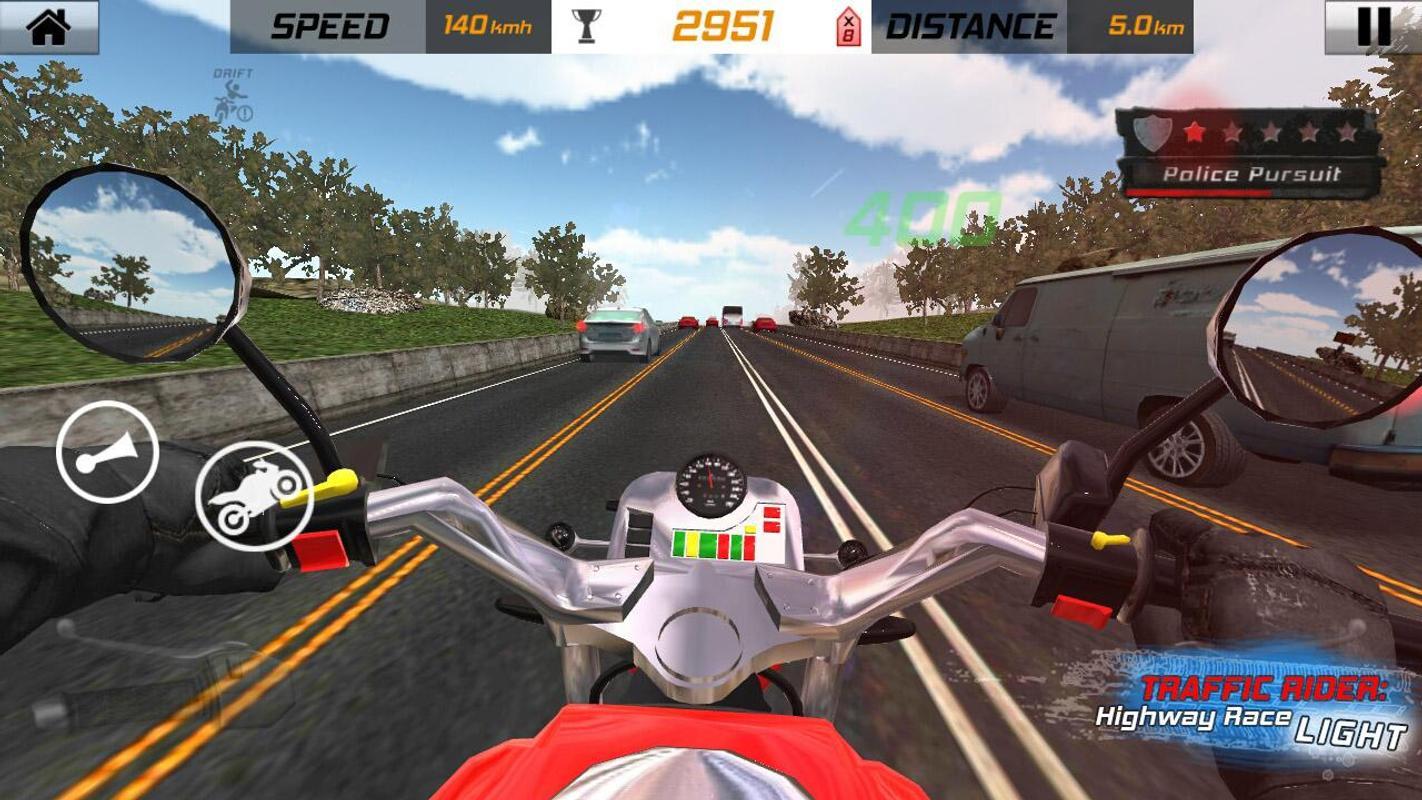 traffic rider hack download apkpure