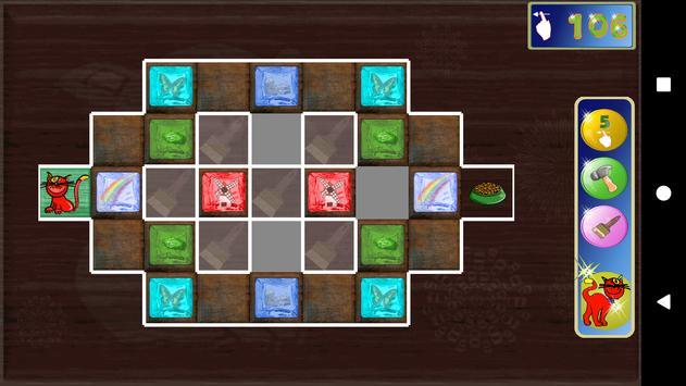 Wooden blocks sliding puzzle. Musky's labyrinth screenshot 2