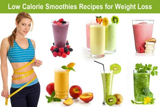 Weight Loss Smoothies poster